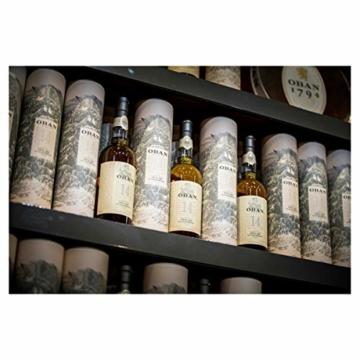 Oban Highland Single Malt Scotch Whisky – 14 Jahre gereift – Rauchig-torfig mit süßen und würzigen Noten – 1 x 0,7l - 4