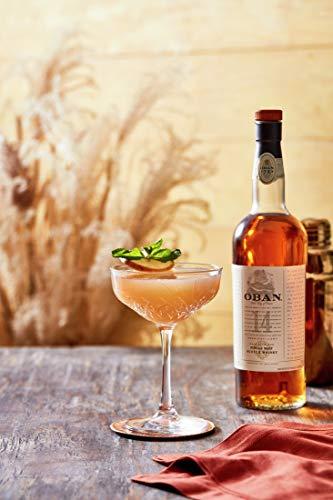 Oban Highland Single Malt Scotch Whisky – 14 Jahre gereift – Rauchig-torfig mit süßen und würzigen Noten – 1 x 0,7l - 5