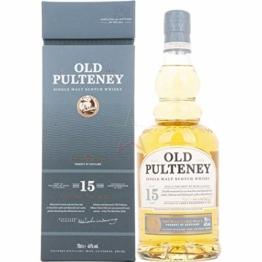 Old Pulteney 15 Years Old Single Malt Scotch Whisky (1 x 0.7 l) - 1
