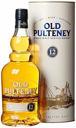 Old Pulteney Highlands Single Malt Whisky 12 Jahre (1 x 0.7 l) - 1