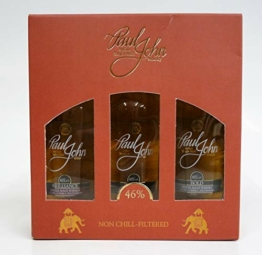 Paul John Indian Single Malt Whisky Mini-Set 3x 0,05l - 1