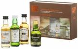 Peated Malts Whisky Geschenkset Mit Bowmore, Laphroaig, Connemara, the Ardmore, 4 x 0,05l, (4er Pack) - 1