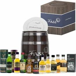 probierFass Whisky Tasting Probierset, Geschenk für Männer, Whisky Geschenk Set für Bruder, Vater oder Opa; Whisky Miniaturen Set (10 x 5cl) - 1
