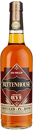 Rittenhouse Straight Rye Whisky 100 Proof Bottled-in-Bond (1 x 0,7 l) - 1