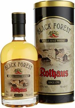 Rothaus Black Forest Single Malt Whisky mit Geschenkverpackung (1 x 0.7 l) - 1