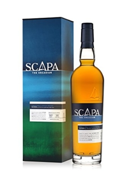 Scapa The Orcadian Skiren Single Malt Scotch Whisky – Der weltweit einzige Whisky nach Lochmond Wash Still Verfahren – Whisky mit fruchtiger Honignote – 1 x 0,7 L - 1