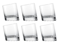 Schott Zwiesel 10 Grad, Whiskybecher 60, 6er Set, Whiskyglas, Kristallglas, 325 ml, 145063 - 1