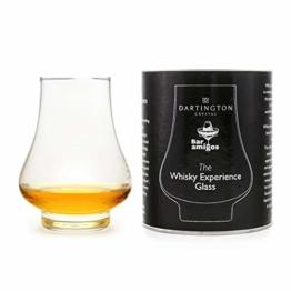 seule à whisky de dégustation en verre 260ml–fabriqué par Dartington Crystal pour barre de amigos l'expérience de whisky en verre dégustation Scotch Taster Ensemble cadeau - 1