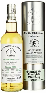 Signatory Vintage STRATHISLA 10 Years Old The Un-Chillfiltered Collection Vintage 2008 Whisky, 0.7 l - 1