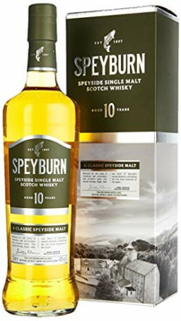Speyburn Single Malt Whisky 10 Years (1 x 0.7 l) - 1