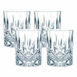 Spiegelau & Nachtmann, 4-teiliges Whisky-Set, Kristallglas, 295 ml, Noblesse, 89207 - 1