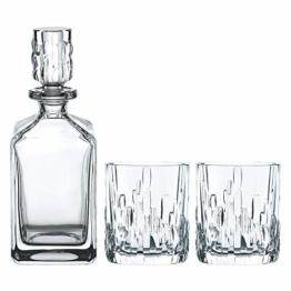 Spiegelau & Nachtmann, Whisky-Set, 3-teilig, Karaffe mit 2 Gläsern, Kristallglas, Shu Fa, 101040 - 1