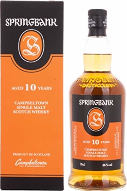Springbank 10 Jährige Single Malt Whisky (1 x 0.7 l) - 1