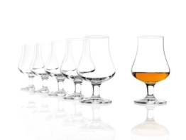 Stölzle Lausitz Whisky The Nosing Glass 194 ml, 6er Set Whiskyglas, spülmaschinenfeste Whiskygläser, hochwertige Qualität aus Kristallglas - 1