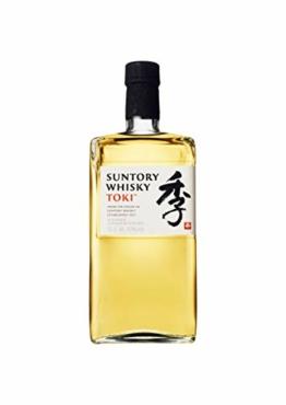 Suntory Whisky Toki Japanischer Blended Whisky mit feinem, süßen und würzigem Abgang, 43% Vol, 1 x 0,7l - 1