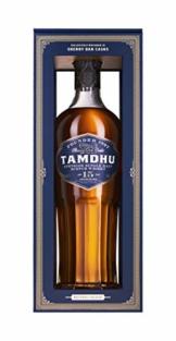 Tamdhu 15 Years Old Speyside Single Malt Scotch Whisky (1 x 700 ml) – Single Malt Whisky mit intensivem Geschmack nach Sommerfrüchten – Whisky reift 15 Jahre in Oloroso-Sherry-Fässern – 46 % Alk. - 1