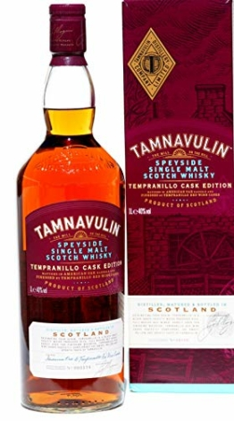 Tamnavulin -Tempranillo Cask Edition- 1,0 Liter - 1