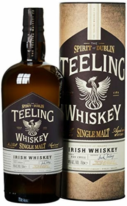 Teeling Single Malt Irish Whiskey mit Geschenkverpackung (1 x 0,7 l) - 1