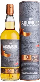 The Ardmore 20 Jahre Single Malt Scotch Whisky mit Geschenkverpackung (1 x 0.7 l) - 1