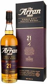 The Arran Malt 21 Years Old Single Malt Scotch Whisky (1 x 0.7 l) - 1