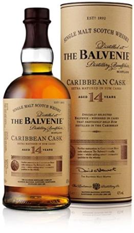 The Balvenie Carribean Cask Single Malt Scotch Whisky 14 Jahre (1 x 0.7 l) - 1