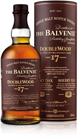 The Balvenie Doublewood Single Malt Scotch Whisky 17 Jahre (1 x 0.7 l) - 1