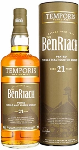 The BenRiach 21 Years Old TEMPORIS Peated Malt Whisky (1 x 0.7 l) - 1