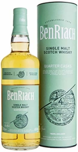 The BenRiach QUARTER CASKS Single Malt Scotch Whisky mit Geschenkverpackung (1 x 0.7 l) - 1