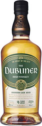 The Dubliner Irish Whiskey 40% vol., im Kentucky Bourbon Fass gereift, Aromen von Pfeffer und Honig (1 x0.7 l) - 1