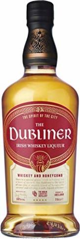 The Dubliner Irish Whiskey Liqueur 30% vol., Whiskeylikör mit Honig und Karamell-Geschmack (1 x0.7 l) - 1