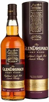 The GlenDronach PORT WOOD Highland Single Malt Scotch Whisky Whisky (x 0.7) - 1