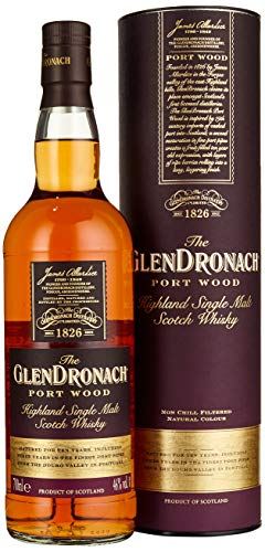 The GlenDronach PORT WOOD Highland Single Malt Scotch Whisky Whisky (x 0.7) - 1