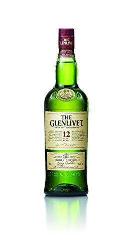 The Glenlivet 12 Jahre Single Malt Scotch Whisky – Scotch Single Malt Whisky aus der Speyside Region – 1 x 0,7 L - 1