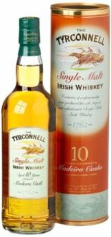 The Tyrconnell 10 Jahre Madeira Finish Irish Single Malt Whiskey, mit Geschenkverpackung, 46% Vol, 1 x 0,7l - 1