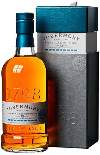 Tobermory 12 Years Old Manzanilla Finish Whiskey mit Geschenkverpackung (1 x 0.7 l) - 1