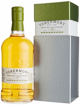 Tobermory 15 Years Old Spanish Oak Whisky (1 x 0.7 l) - 1