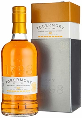 Tobermory 22 Years Old Port Finish Whiskey mit Geschenkverpackung (1 x 0.7 l) - 1