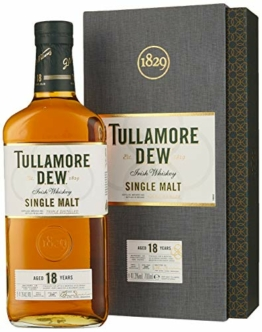 Tullamore Dew Tullamore D.E.W. 18 Years Old Single Malt Irish Whiskey  Whisky (1 x 0.7) - 1