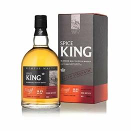 Wemyss Malts Spice King Batch Strength Whisky 0,7 L Blended Malt Scotch Batch 001 - 1