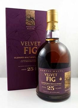 Wemyss Malts VELVET FIG 25 Years Old Blended Malt Scotch Whisky Whisky (1 x 0.7 l) - 1