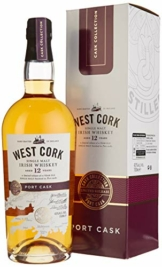 West Cork 12 Years Old Irish Whiskey Port Cask Finish Limited Release (1 x 0.7 l) - 1