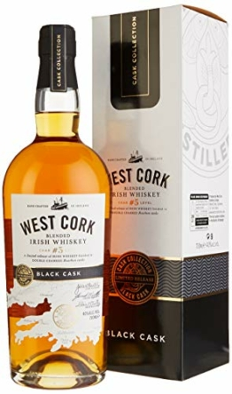 West Cork Char No. 5 Level Blended Irish Whiskey Black Cask Finish (1 x 0.7 l) - 1
