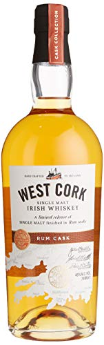 West Cork Single Malt Irish Whiskey Rum Cask Finish (1 x 0.7 l) - 1