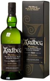 Whisky Ardbeg Islay Single Malt 10 Jahre in Geschenkverpackung (1 x 0.7 l) - 1