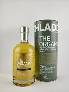 Whisky Bruichladdich Organic Multi Vintage Malt Whisky 0,7L - Schotland - 1